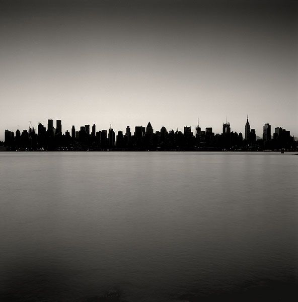 NYC skyline by Michael Kenna